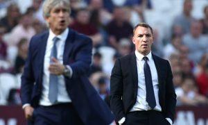 Rodgers hài lòng với sự tiến bộ của Leicester City tại NHA