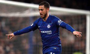 Eden Hazard sẵn sàng cho trận Chelsea vs Tottenham