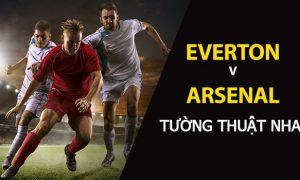 Kèo bóng đá: Everton vs Arsenal (Ngoại Hạng Anh)