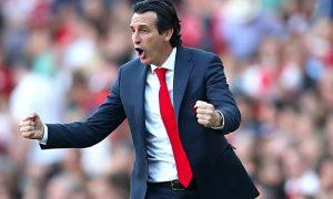 HLV Emery hài lòng với phong độ của các cầu thủ Arsenal
