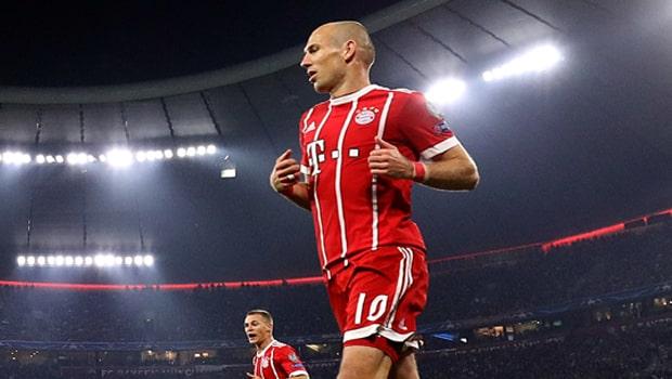 Arjen Robben của Bayern Munich sắp giải nghệ