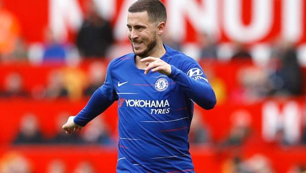 Eden Hazard quyết tâm giúp Chelsea giành suất tham dự Champions League