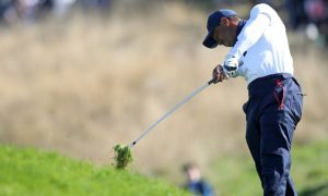 Tiger Woods tranh tài tại giải gôn Mỹ mở rộng