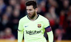 Messi có thể rời khỏi Barcelona vào cuối mùa bóng