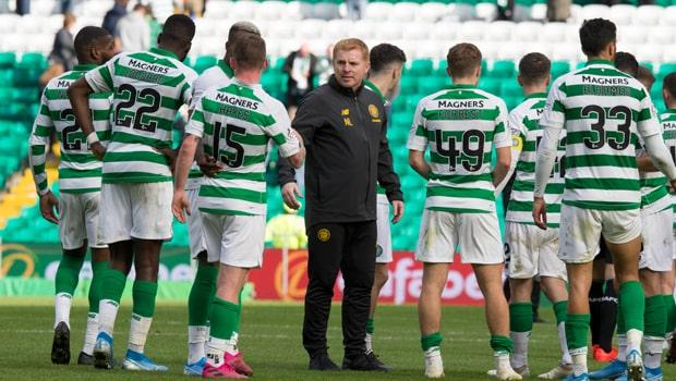 Neil Lennon hạnh phúc với tiến bộ của Celtic ở mùa này
