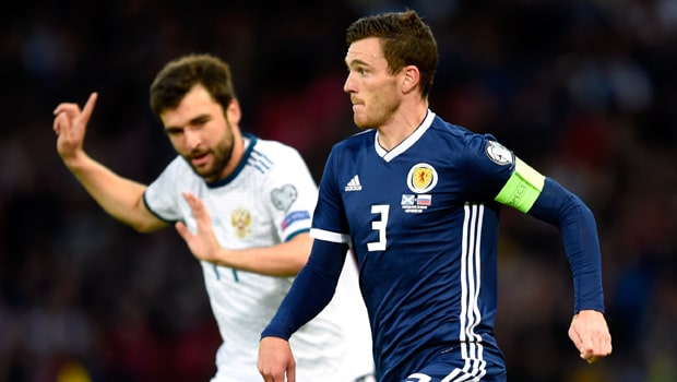 Robertson cho rằng kết quả trước Bỉ giúp đội bóng của anh