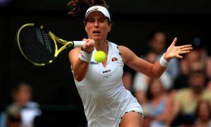 Tay vợt Konta quyết tâm thi đấu thành công tại New York