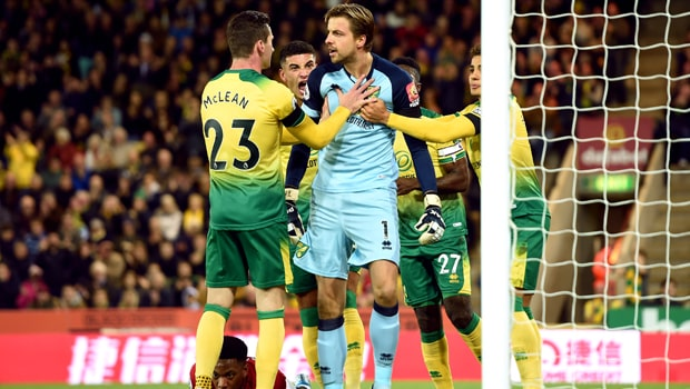 Norwich có chiến thắng quan trọng trước Everton