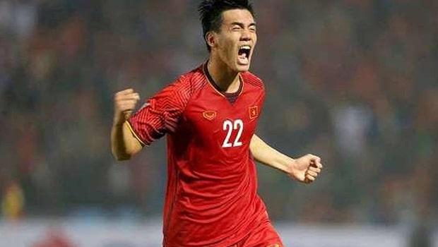 Tiến Linh được liên đoàn bóng đá Châu Á chấm 5 sao sau trận gặp U22 Lào