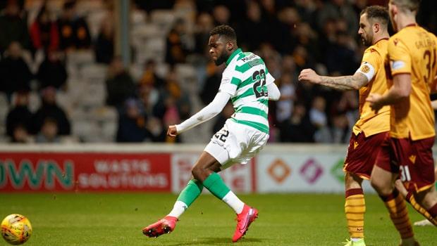 Celtic thắng Motherwell - Edouard cán mốc 20 bàn thắng mùa này