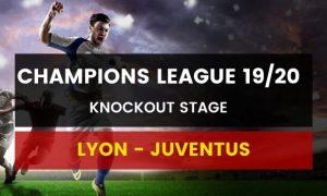 Dafabet kèo bóng đá Champions League 2019/2020 trận: Lyon - Juventus